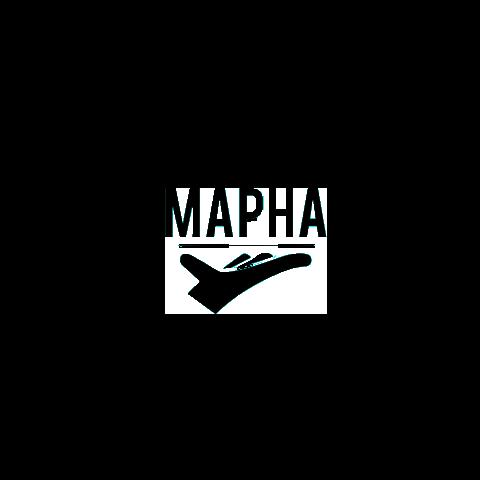 Mapha logo  greayscale