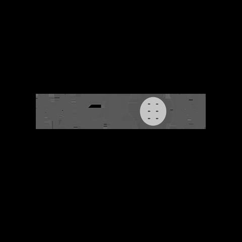 Melon logo  greyscale